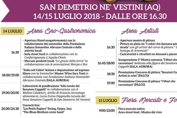 Le Grazie della Terra - San Demetrio Ne' Vestini - L'Aquila
