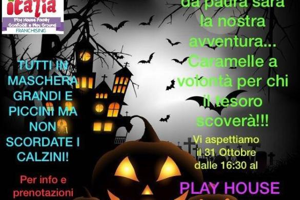 Festa-Halloween-Play-House-Family-LAquila- Halloween 2018 per bambini in Abruzzo