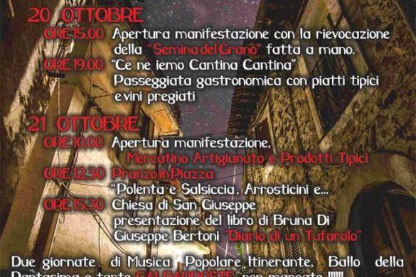 Festa della Castagna - Tufo di Carsoli AQ - Feste d'autunno in Abruzzo