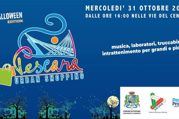 Pescara-Urban-Shopping-Halloween-Edition- Halloween 2018 per bambini in Abruzzo
