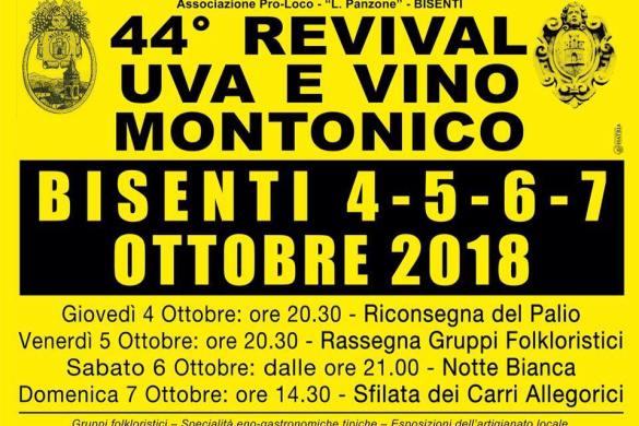 Revival uva vino montonico - Bisenti TE - Feste d'autunno Abruzzo
