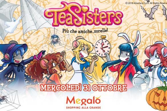 Tea-Sisters-CC-Megalò-Chieti- Halloween 2018 per bambini in Abruzzo
