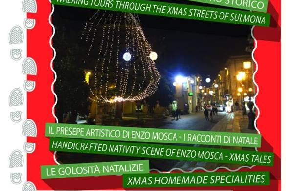 4-Passi-in-Città-Sotto-L'Albero-Sulmona - Cosa fare a Natale con i bambini in Abruzzo