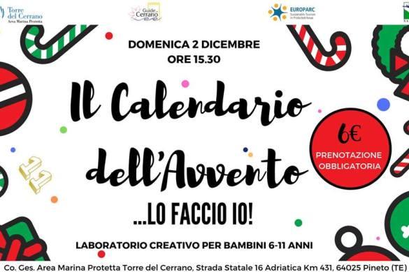 Il-Calendario-dellAvvento-Torre-del-Cerrano-Pineto- Cosa fare a Natale con i bambini in Abruzzo