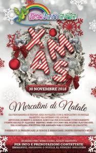 Mercatini di Natale - Fiestamania Park Teramo - Cosa fare a Natale con i bambini in Abruzzo