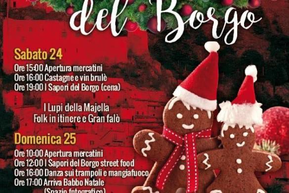Mercatini-ne-Borgo-Roccacasle- Eventi per bambini L'Aquila