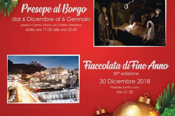 Natale-a-Civitella-Alfedena-L'Aquila- Cosa fare a Natale con i bambini in Abruzzo