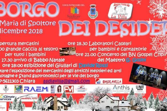 Il-Borgo-dei-deisideri-Villa-Santa-Maria-di-Spoltore-Pescara - Natale 2018 in Abruzzo