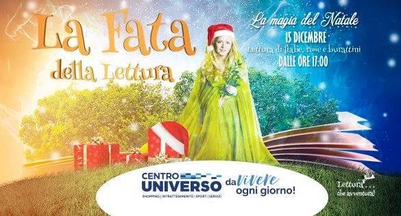 La-Fata-della-Lettura-Centro-Commerciale-Universo-Silvi-Marina-Teramo - Eventi per famiglie con bambini in Abruzzo