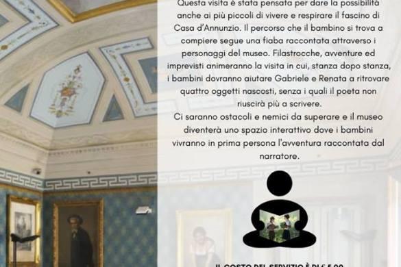 Una-Favola-al-Museo-Casa-Natale-DAnnunzio-Pescara-Dadabruzzo - Eventi per famiglie con bambini in Abruzzo