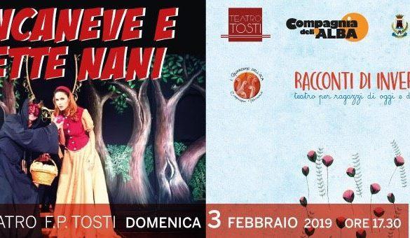 Biancaneve-Spettacolo-Teatrale-Teatro-Tosti-Ortona-Chieti