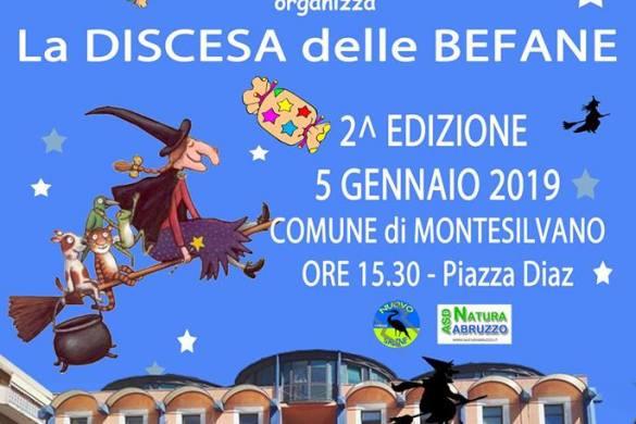 Discesa-delle-Befane-Montesilvano-Pescara