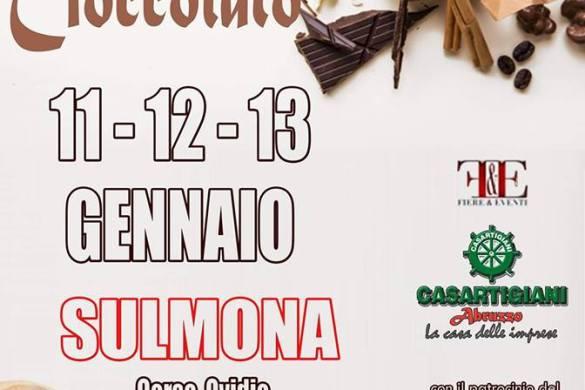 Festival-del-Cioccolato-Sulmona-L'Aquila - Eventi per bambini in Abruzzo weekend 12 - 13 gennaio