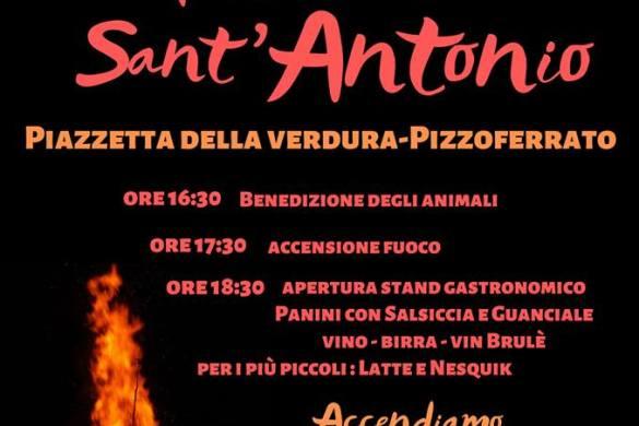 Fuoco di Sant'Antonio a Pizzoferrato - Chieti