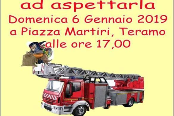 La-Befana-dei-Vigili-del-Fuoco-Teramo - Befana 2019 in Abruzzo