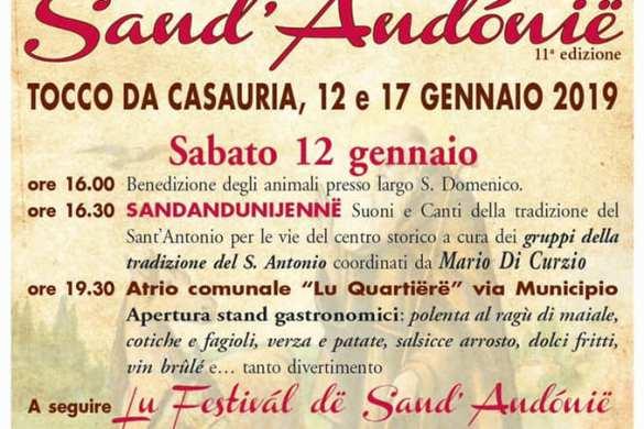Lu-Festvial-de-lu-Sand-Andonie-Tocco-da-Casauria-Chieti