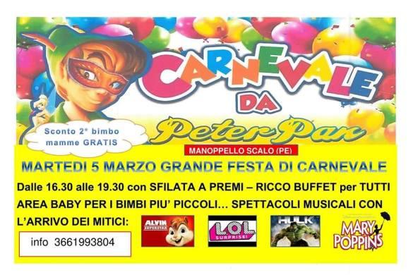 Festa-di-Carnevale-Peter-Pan-Manoppello-Scalo-Pescara