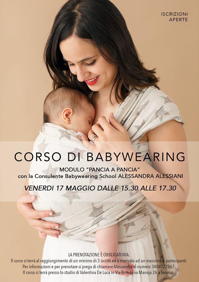 Corso di Babywearing cuore a cuore Alessandra Alessiani a Teramo