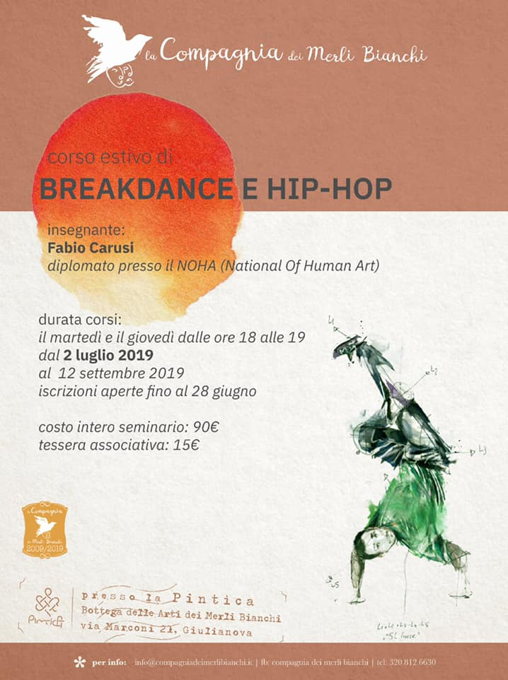 Corso di Breakdance e Hip Pop