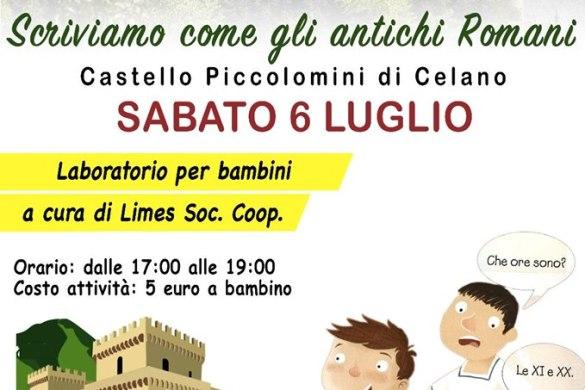 Laboratorio-Castello-Piccolomini-Capestrano-LAquila