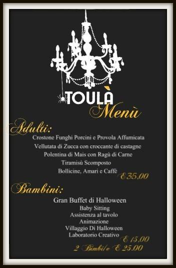 Menù de Il Brunch di Halloween a Cepagatti