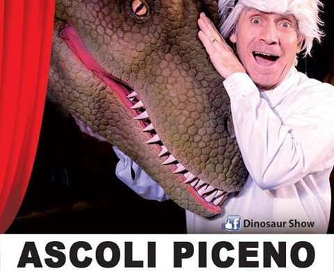 Spettacolo-Dinosauri-Vivi-teatro-comico-Ascoli-Piceno