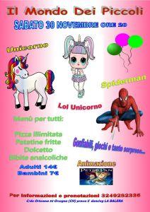 Unicorno-Party-e-Spiderman-Il-Mondo-dei-Piccoli-Orsogna-Chieti