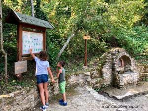 Area picnic presso la Riserva Naturale Castel Cerreto