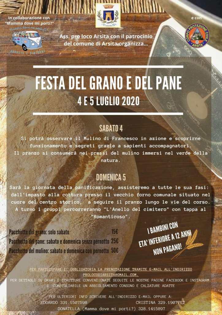 Festa del grano e del pane ad Arsita