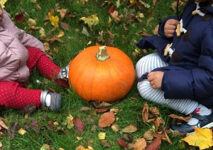 Meeting pumpkin