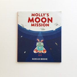 Front cover of book Molly's Moon Mission