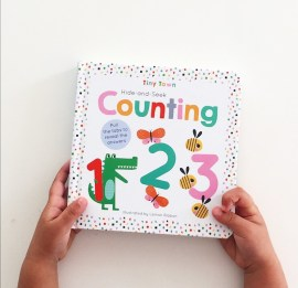 Front cover of Counting board book by Imagine That
