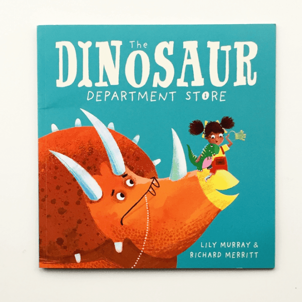 Cover photo for The Dinosaur Department Store.