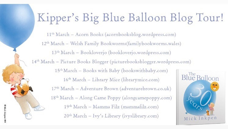 Kipper blog tour list
