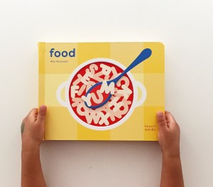 Touch words Food front cover