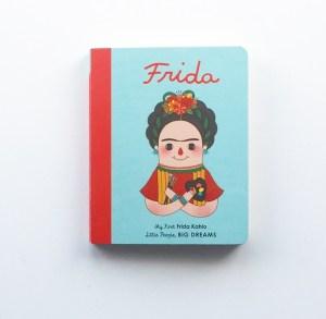 Board book on Frida Kahlo published by Quarto Kids.