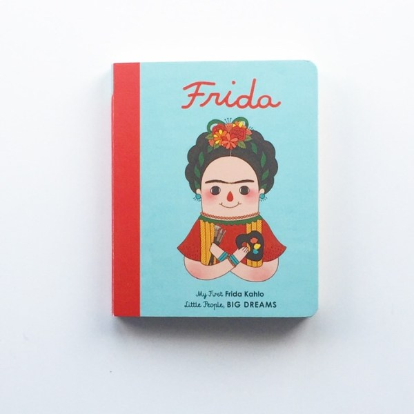 Board book on Frida Kahlo published by Quarto Kids.