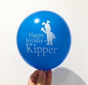 Kipper balloon