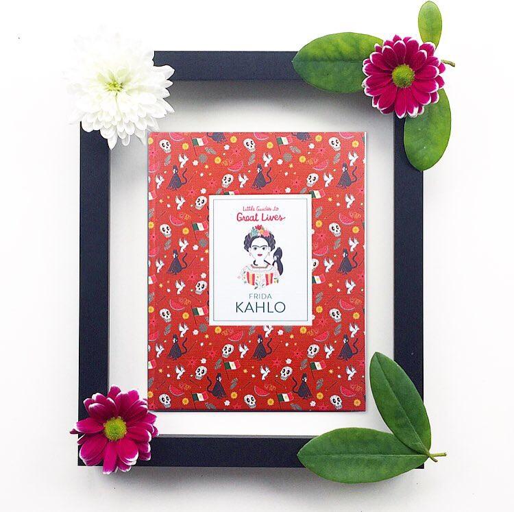Front cover shot of Frida Kahlo Laurence King publishers
