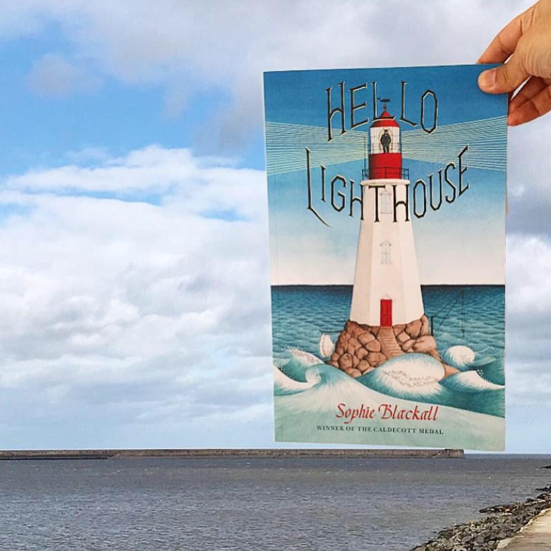 Hello Lighthouse cover shot in natural habitat MammaFilz.com