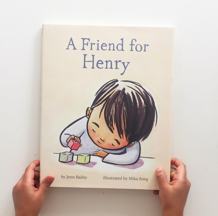 Book cover photo of picture book A Friend For Henry based on an autistic young boy.