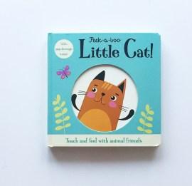 Board book Peek a boo little cat! MammaFilz.com