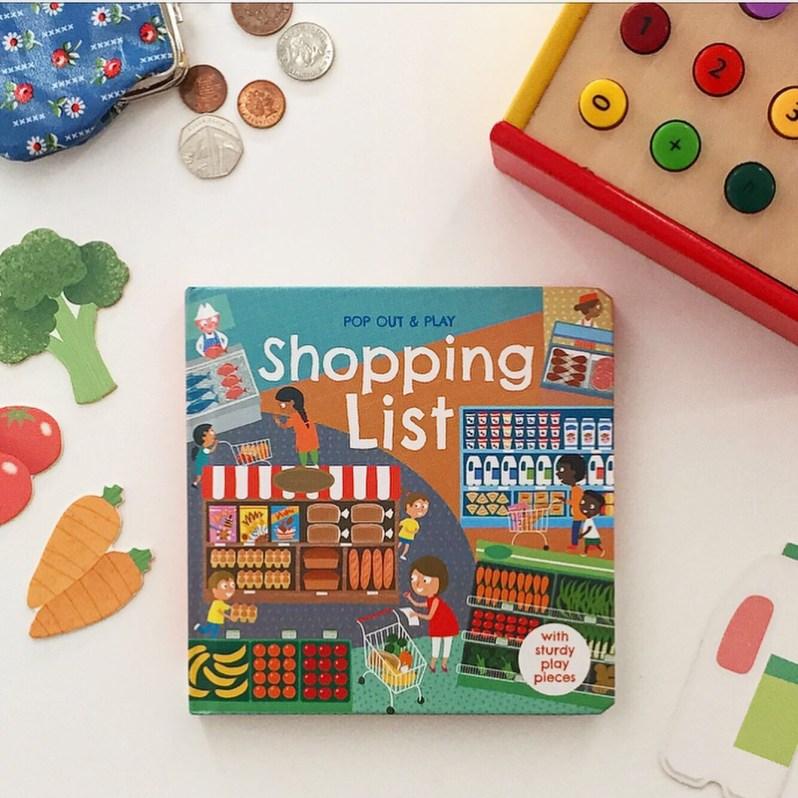Shopping List interactive book review mammafilz.com