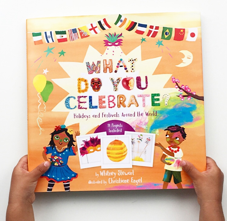 Cover shot of fabulous non-fiction book What do you celebrate?