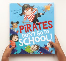 Pirates don't go to school book review on MammaFilz.com