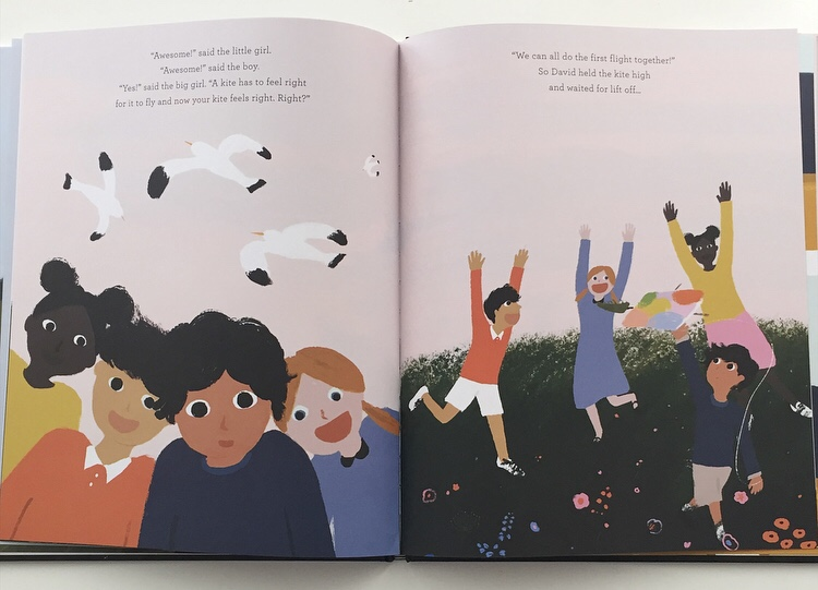 Illustrations from Kites book review