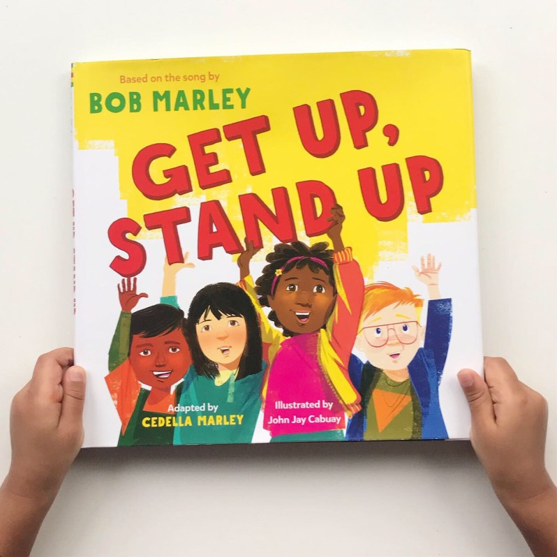 Book review of picture book Get Up Stand Up