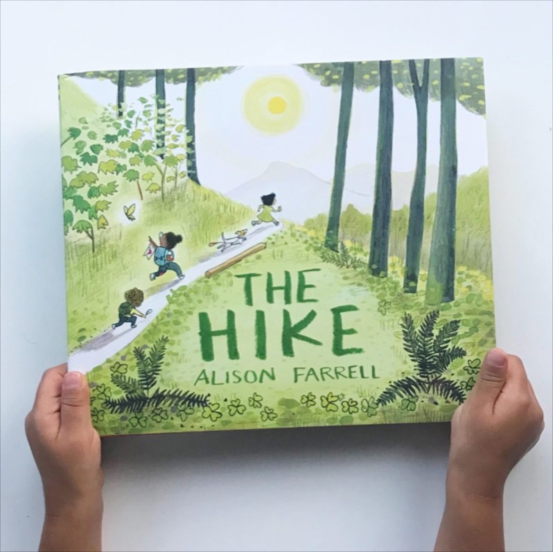 The Hike Alison Farrell book review on Mammafilz.com