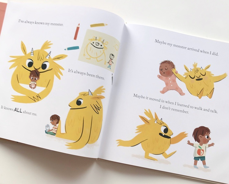 Book review of My Monster and Me on mammafilz.com