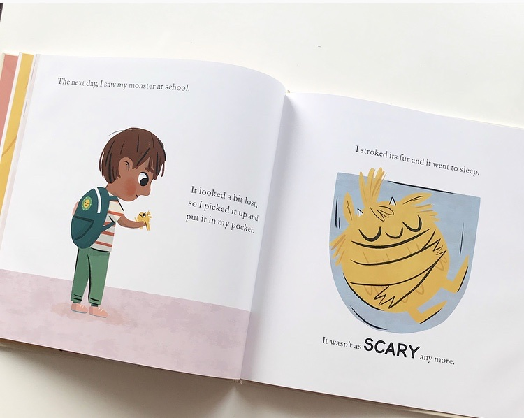 Book review of My Monster and Me by Nadiya Hussain on Mammafilz.com